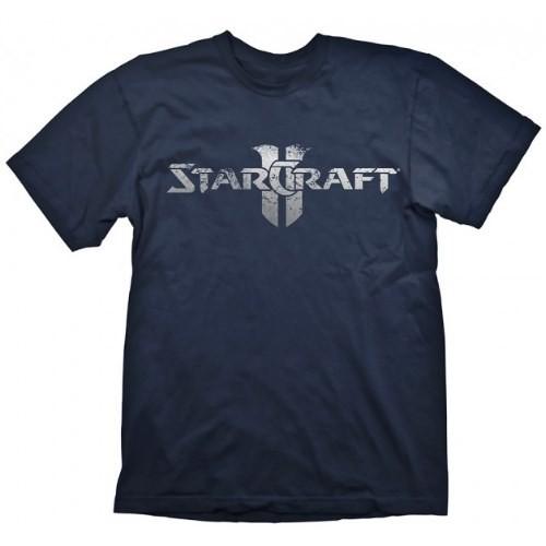 Tričko Starcraft II - Stříbrné logo