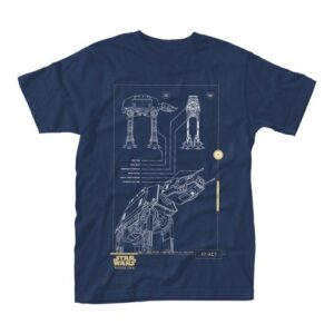 Tričko Star Wars Rogue One - Blue Print
