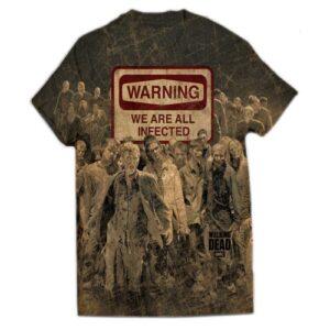 Tričko Walking Dead - Warning